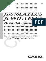 Informacion de Calculadora Casio