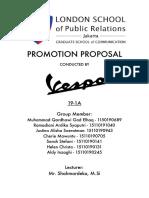 Vespa Proposal