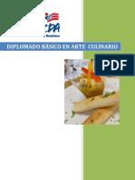 Diplomado Básico en Arte Culinario