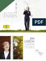 Booklet - Chopin Etúdes - Jan Lisiecki
