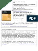 (Schottmann 2011) Mahathir and Islam