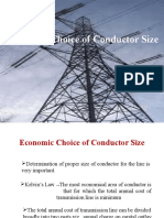 Economic Choice of Conductor Size