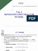Cap4 Densitatea Spectrala de Putere v02