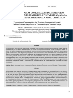 5. Ruíz & Vargas (2014) Percepción de Las Comunidades Del Territorio