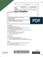 may 2010 bus studies