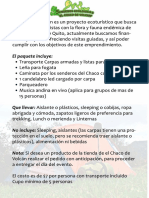 Informacion de Paquete Turistico