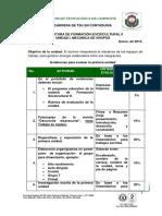 Rubrica Para 1 Parcial Formación II 2013