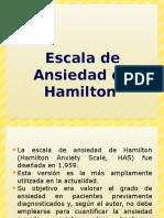 Escala de Ansiedad de Hamilton- MANUELA
