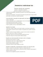 Modelo de Relatório Individual Do Aluno