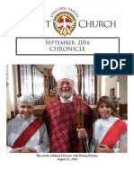 Christ Episcopal Church Eureka, September Chronicle, 2016