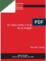 El Video Arte