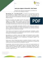 31 03 2011 - El gobernador Javier Duarte de Ochoa asistió a la Firma del Convenio de Colaboración entre ORFIS y SEFIPLAN.