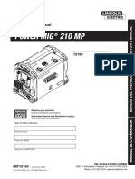 Lincoln Electric MP210 Manual