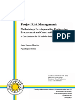 project management in oil and gas projects