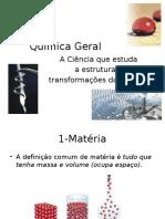 Química Geral- Aula 1