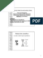 Charla Modulo II-Redaccion Cientifica-taller de Tesis