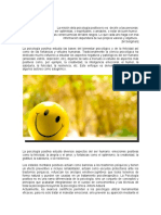 Psicología Positiva Positiva