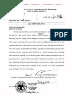 Greg Brand Information on campaign finance violations