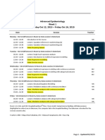 2015HT Advanced Epidemiology - Schedule