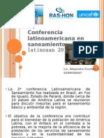 Conferencia LATINOSAN