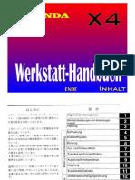 honda cb1300 x4 manual