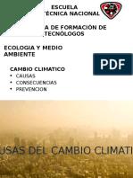 Cambio Climaticocenteno