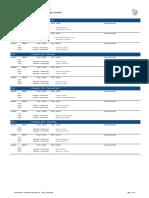 Event Schedule - Handball Pt