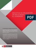 Conoce más sobre el proyecto de ley de delegación de facultades legislativas