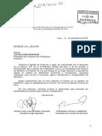 Proyecto de ley de delegación de facultades enviado al Congreso por gobierno de Pedro Pablo Kuczynski