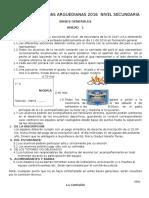 Bases Generales IV Olimpiada Arguedina 2016 Nivel Secundaria_actual