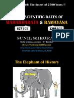 Full & Final Dating of the Mahabharata War - 827 BCE