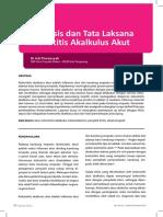 CASE REPORT Diagnosis Dan Tata Laksana Kolesistitis Akalkulus Akut