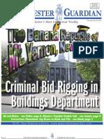 Criminal Bid Rigging in City of Mount Vernon Buildings Department