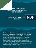 Sistema Condominial Criterios Técnicos