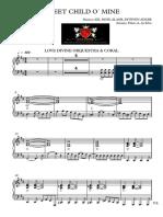 Doce Menina - Piano