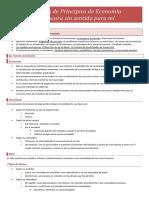 Principios de Economía - Resumen