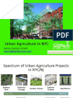 Urban Agriculture in NYC