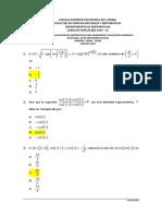 1S-2016 Matematicas SegundaEvaluacion11H30VersionCero