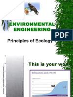 1. Principles of Ecology