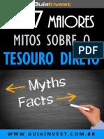 Tesouro Direto - Os 7 Maiores Mitos