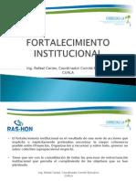 presentación del Ing. Rafael Carias