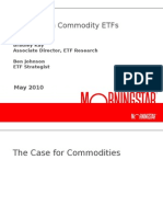 Investing in Commodities With ETFs