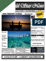 The Emerald Star News - September 8, 2016 Edition