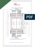 Planta Arquitectonica Polideportivo