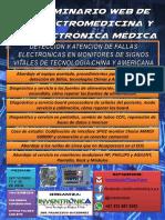 Seminario Web de Electromedicina y Electrónica Médica