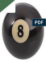Number 8 Billiard Ball 320x320