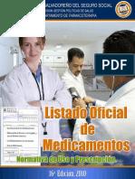 Listado de Medicamentos ISSS 2012