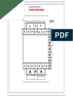 Planta Estrutural - Polideportivo-model