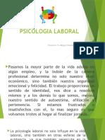 Psicologia Laboral Ponencia