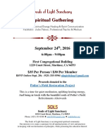 flyer - fall spiritual gathering 2016